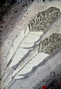 """Thomas Breeze Marcus, """"Hethuska Two Feathers"""", 2013"""
